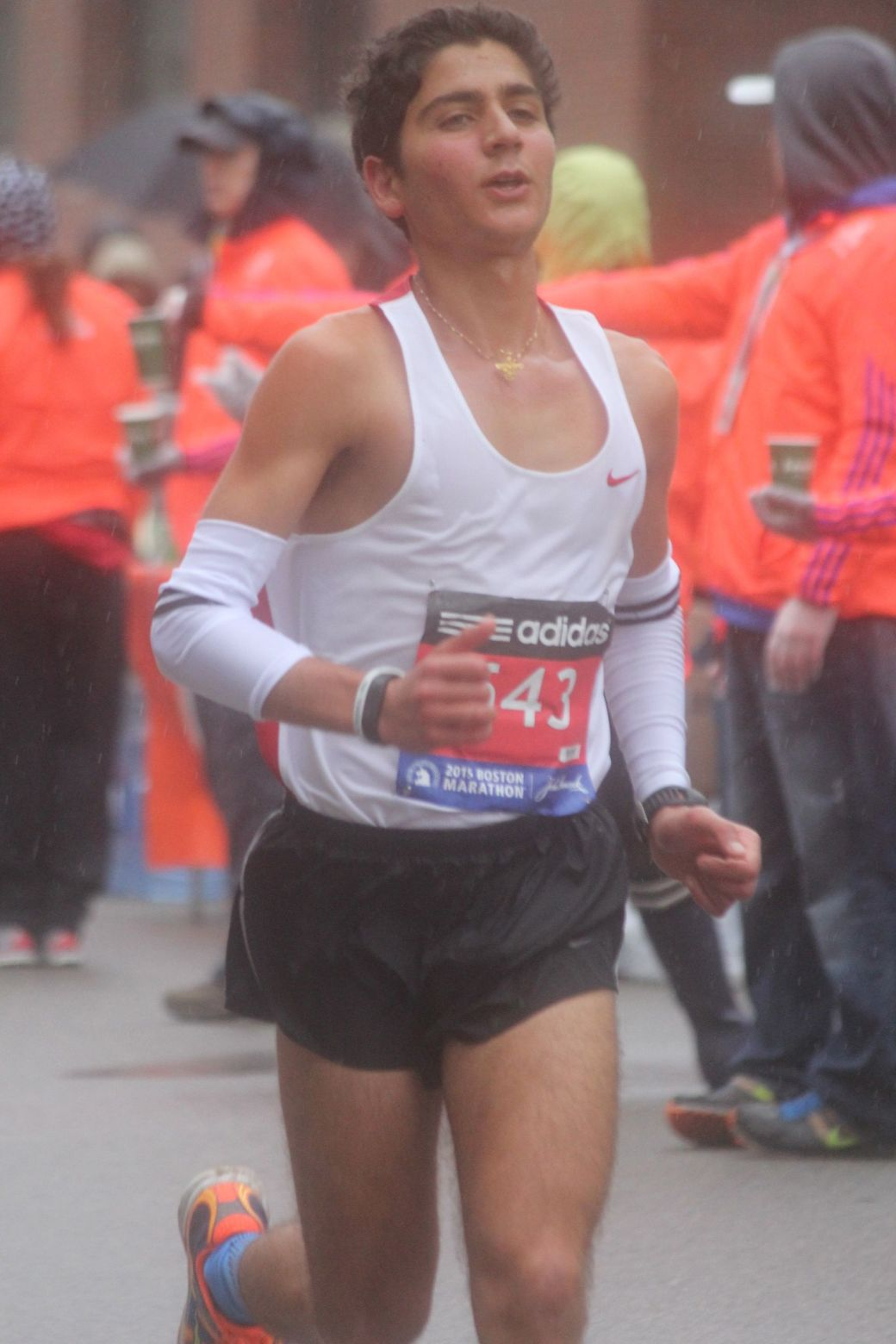 boston marathon april 20 2015 racer number 543
