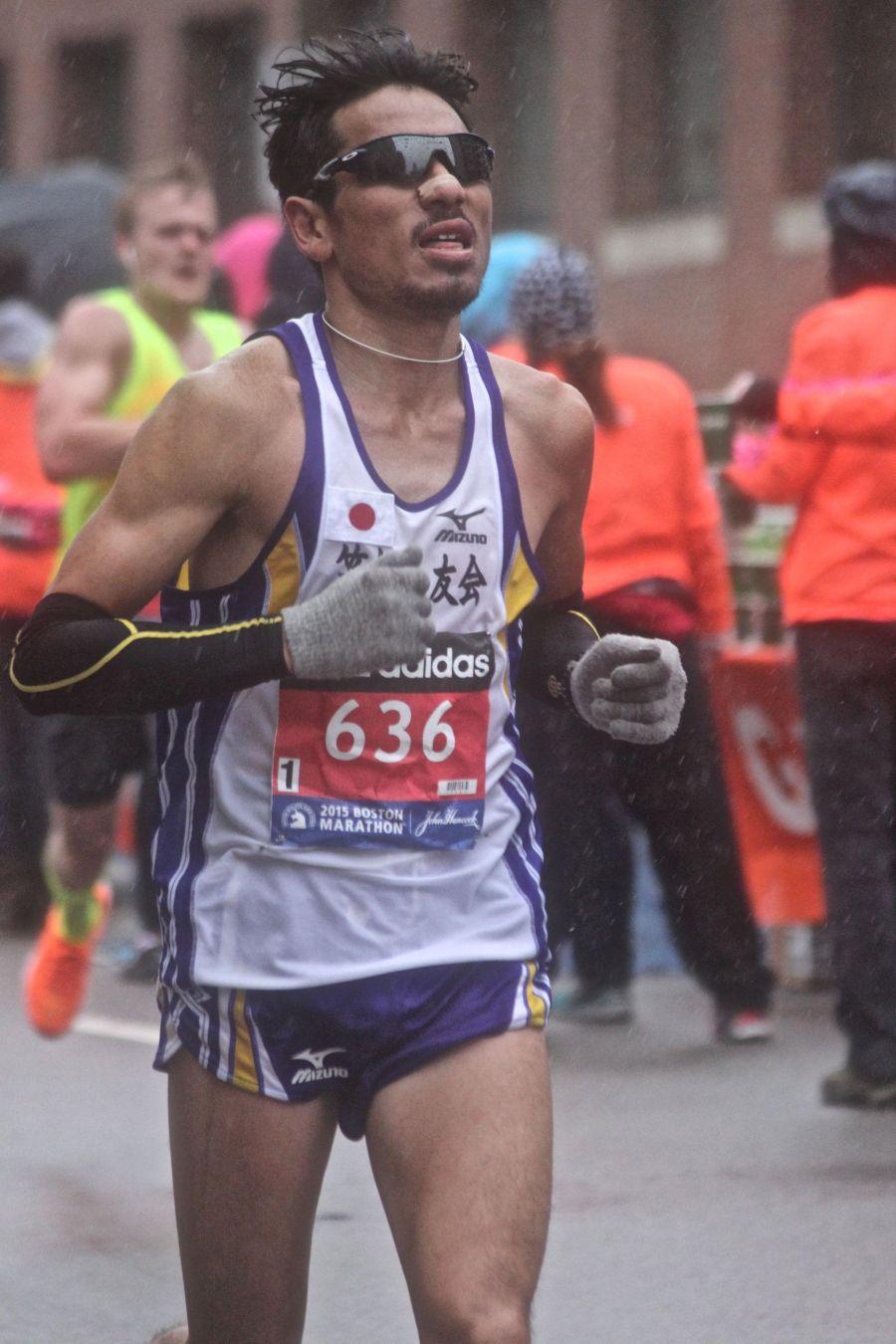 boston marathon april 20 2015 racer number 636