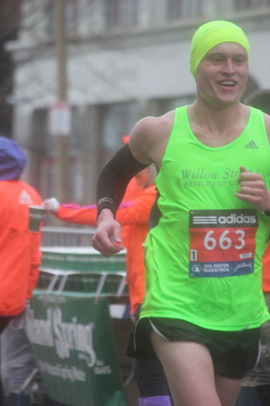 boston marathon april 20 2015 racer number 663