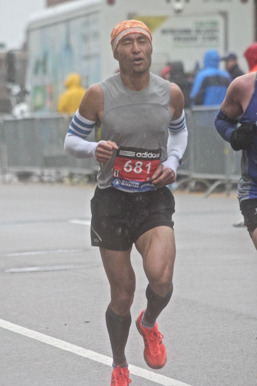 boston marathon april 20 2015 racer number 681
