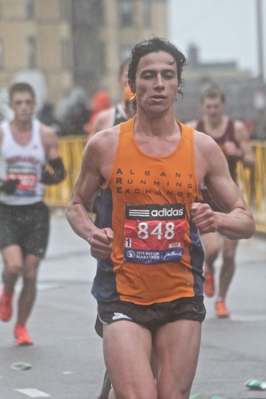 boston marathon april 20 2015 racer number 848