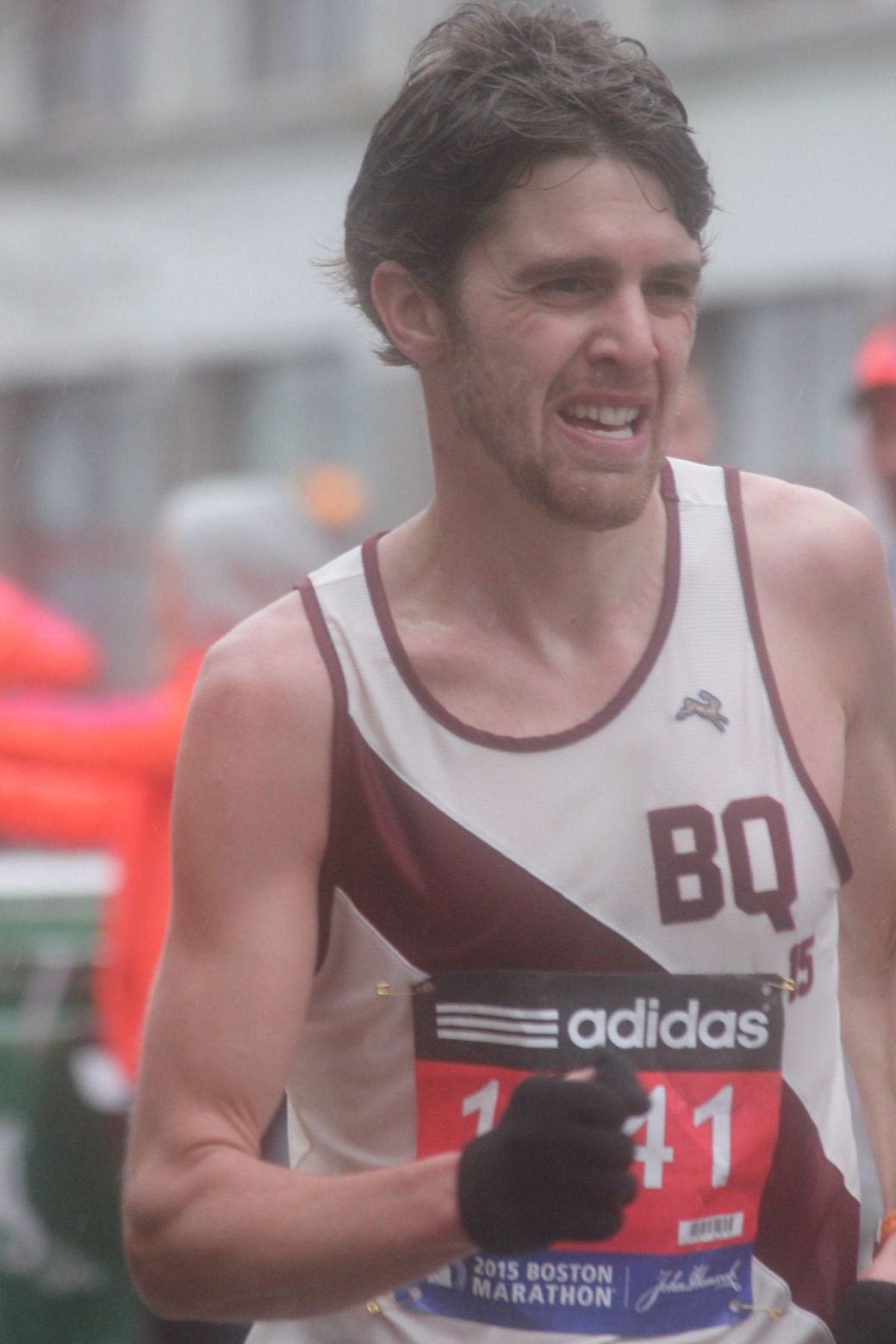 boston marathon april 20 2015 racer number BQ