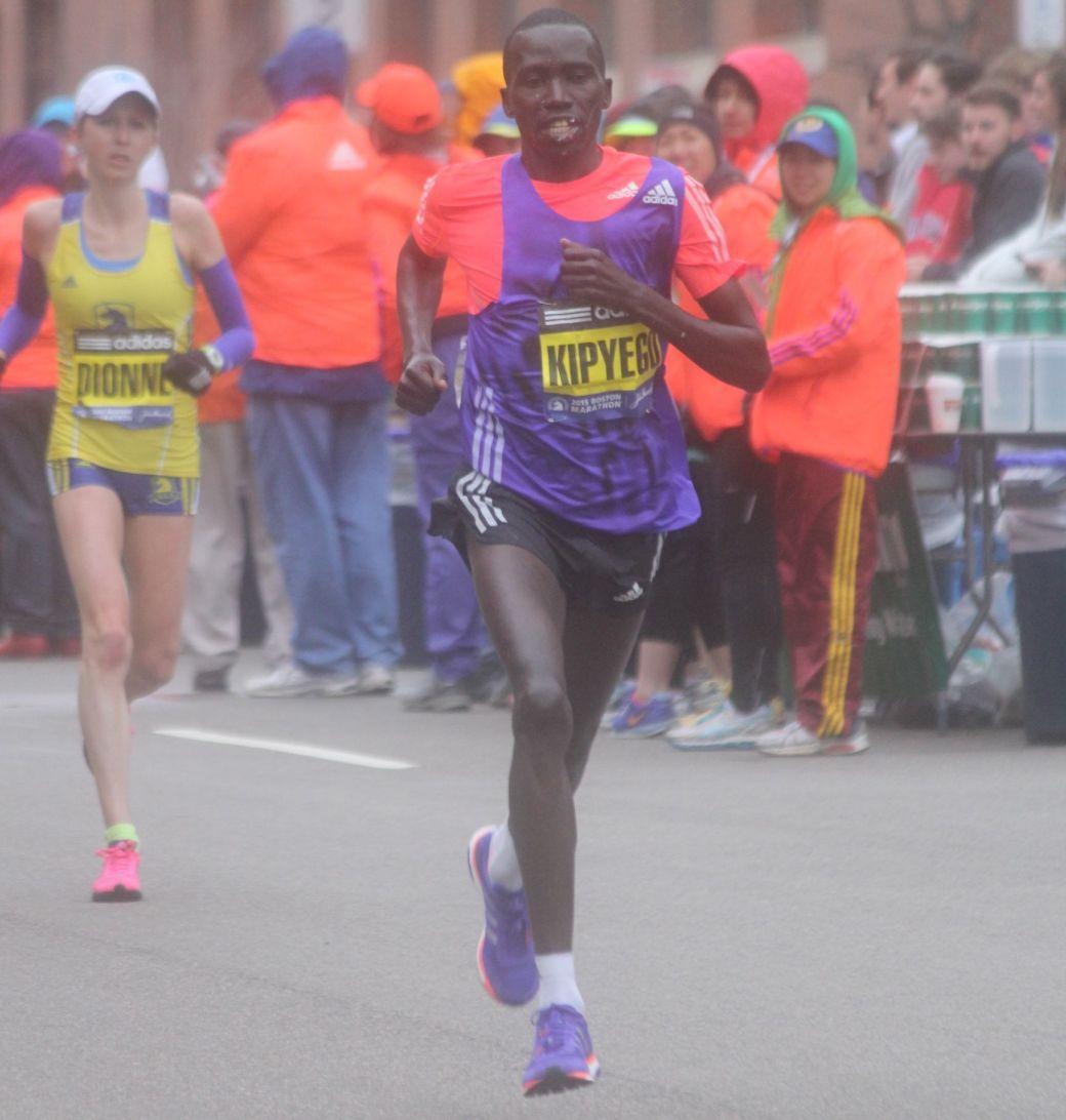 boston marathon april 20 2015 womens elite race bernard kipyego