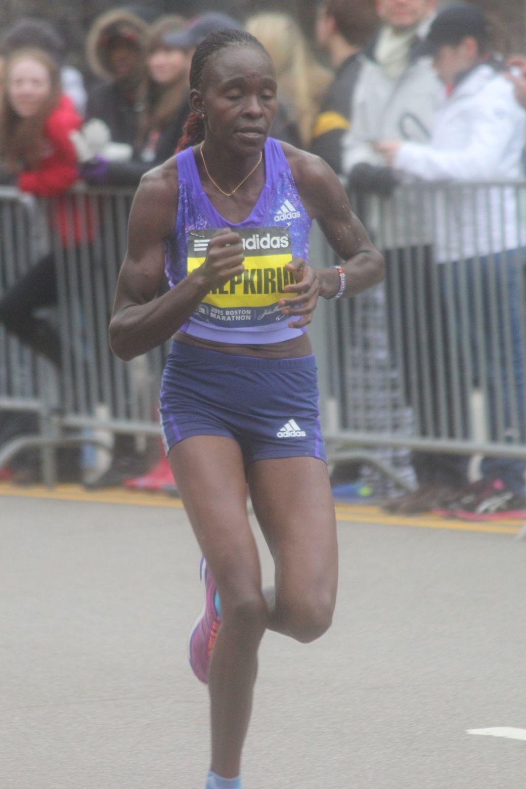boston marathon april 20 2015 womens elite race joyce chepkirui