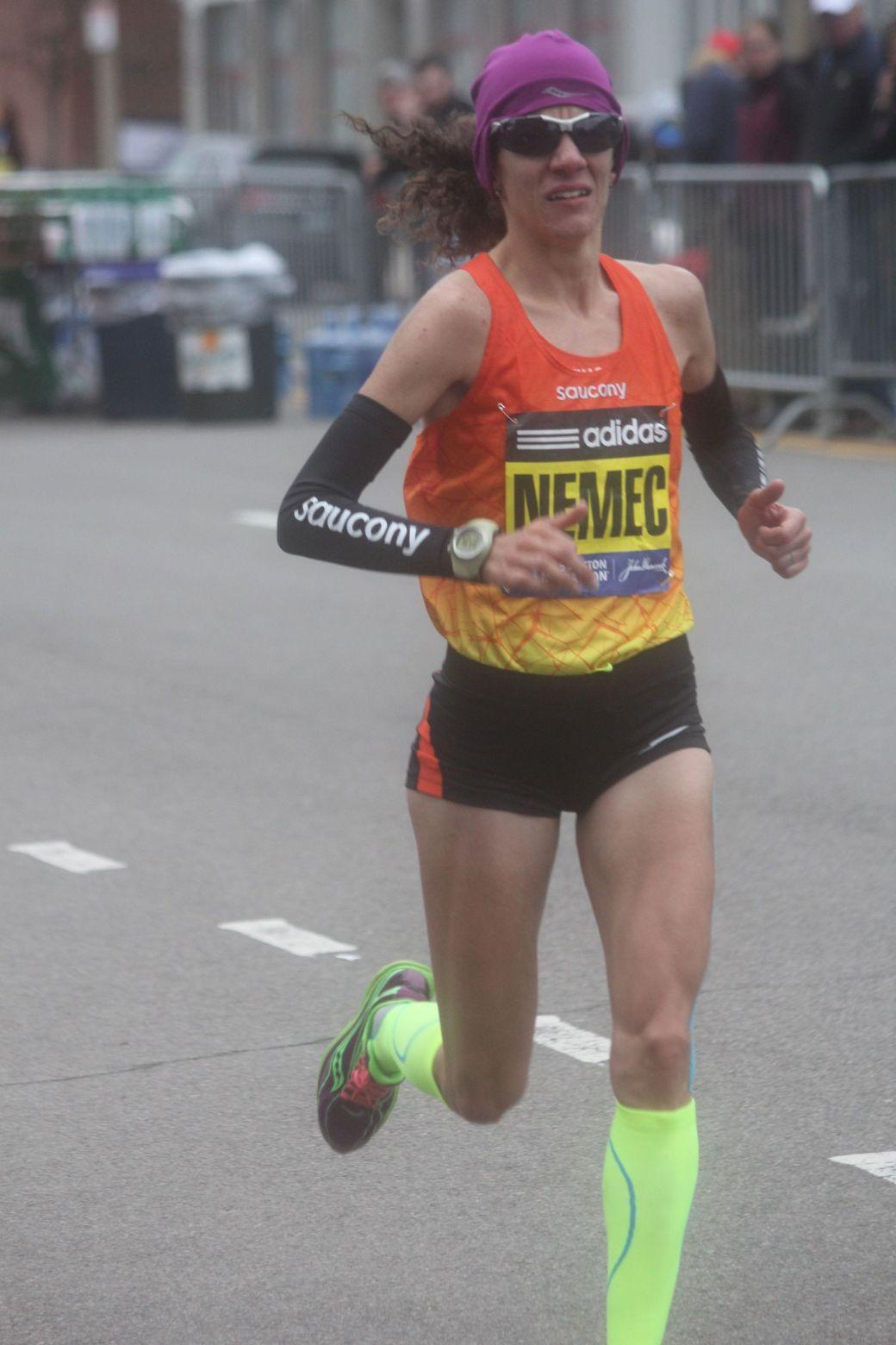 boston marathon april 20 2015 womens elite race lisa nemec 2