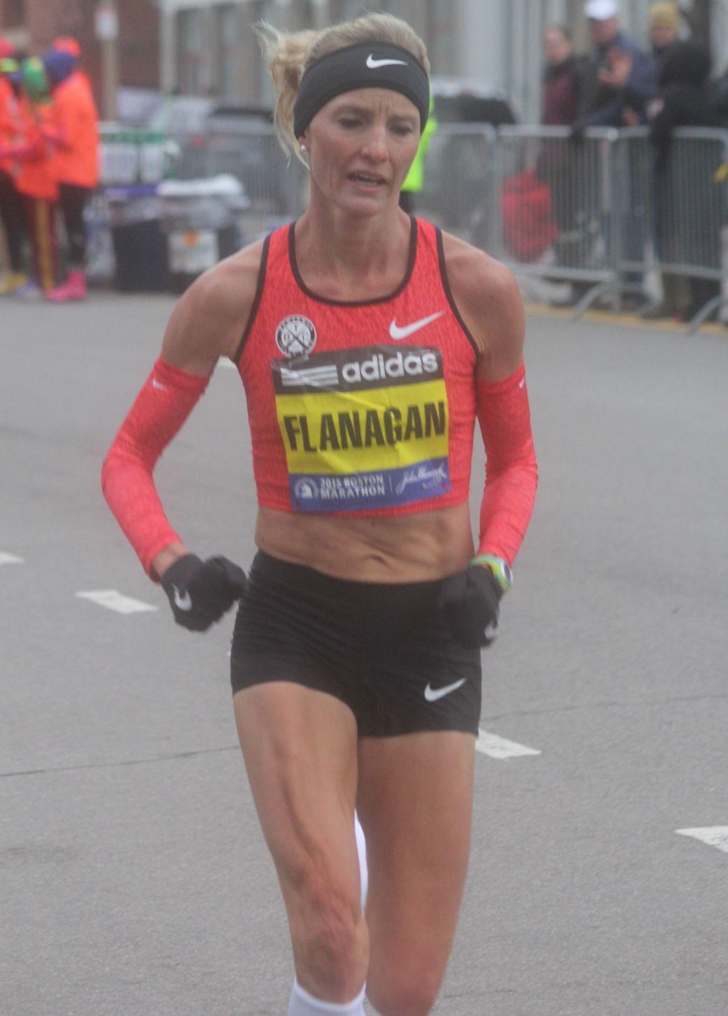 boston marathon april 20 2015 womens elite race shalene flanagan