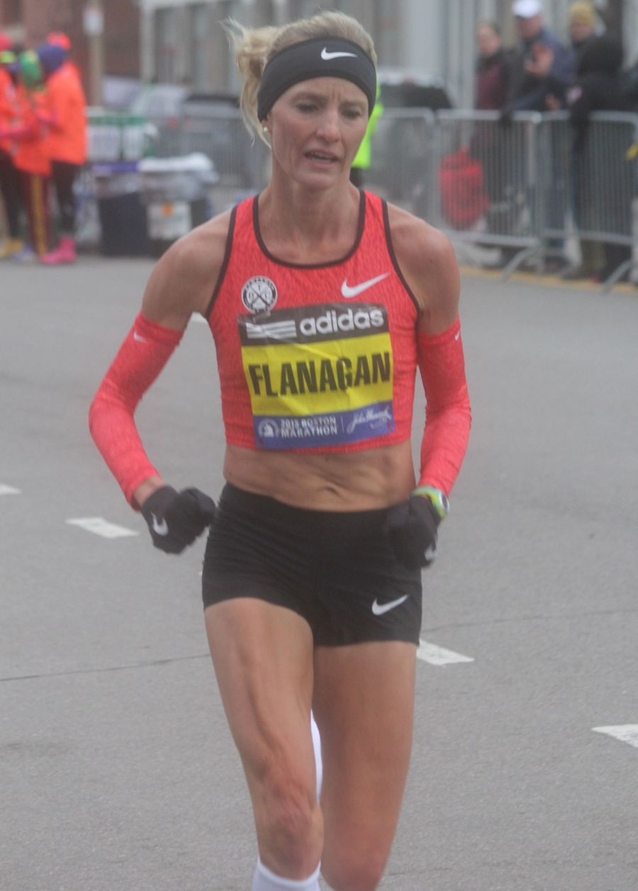 boston marathon april 20 2015 womens elite race shalene flanagan