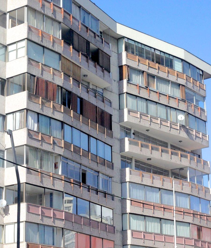 chile santiago apartment building