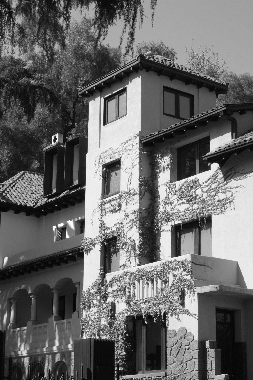 chile santiago pablo neruda house neighborhood 2