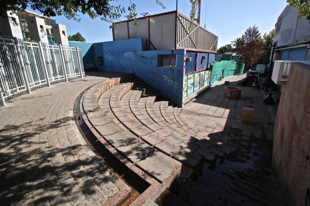 chile santiago pablo neruda house steps color 1