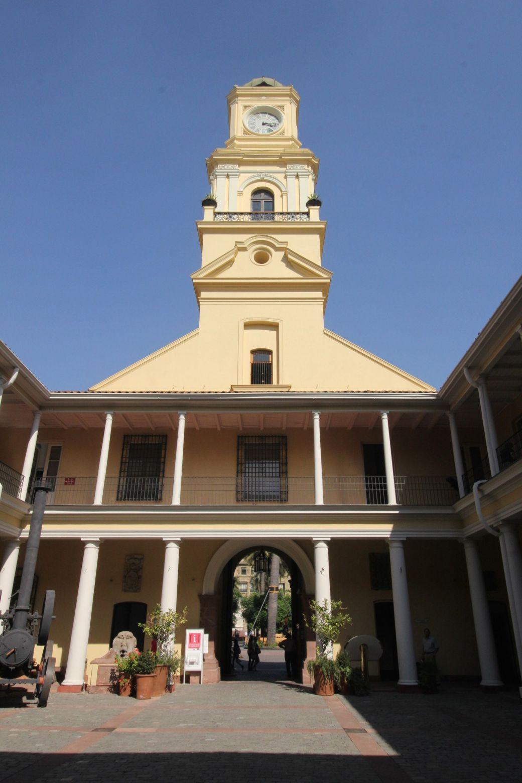 chile santiago plaza de armas national museum