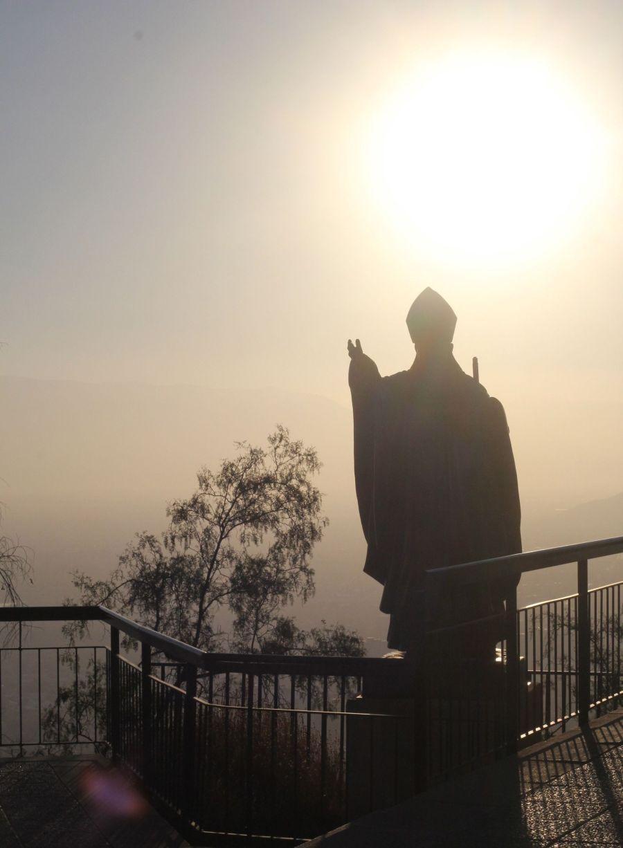 chile santiago san cristobal hill 2