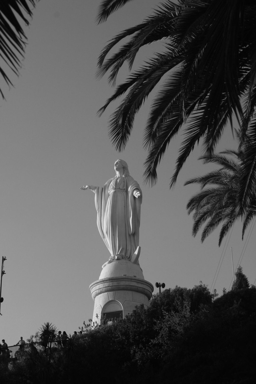 chile santiago san cristobal hill 5