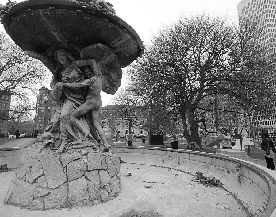 providence rhode island fountain 2