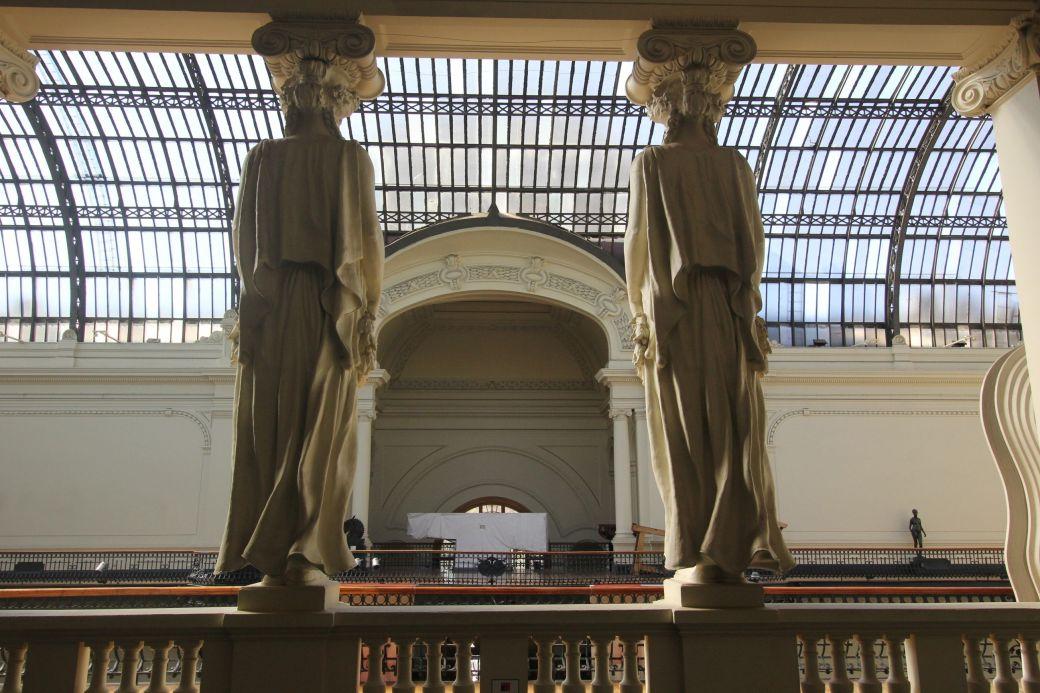 santiago chile bellas artes museum inside 2
