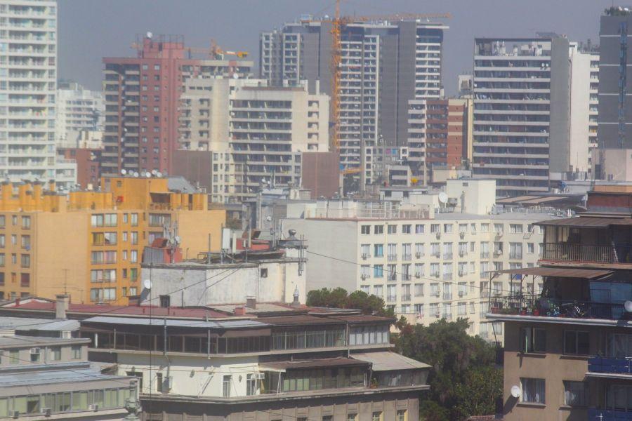 santiago chile santa lucia hill hill top view buildings 2