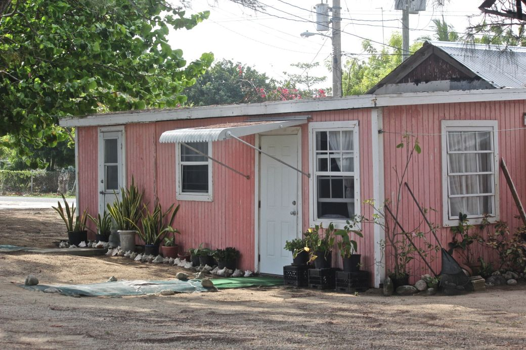 cayman islands pink house