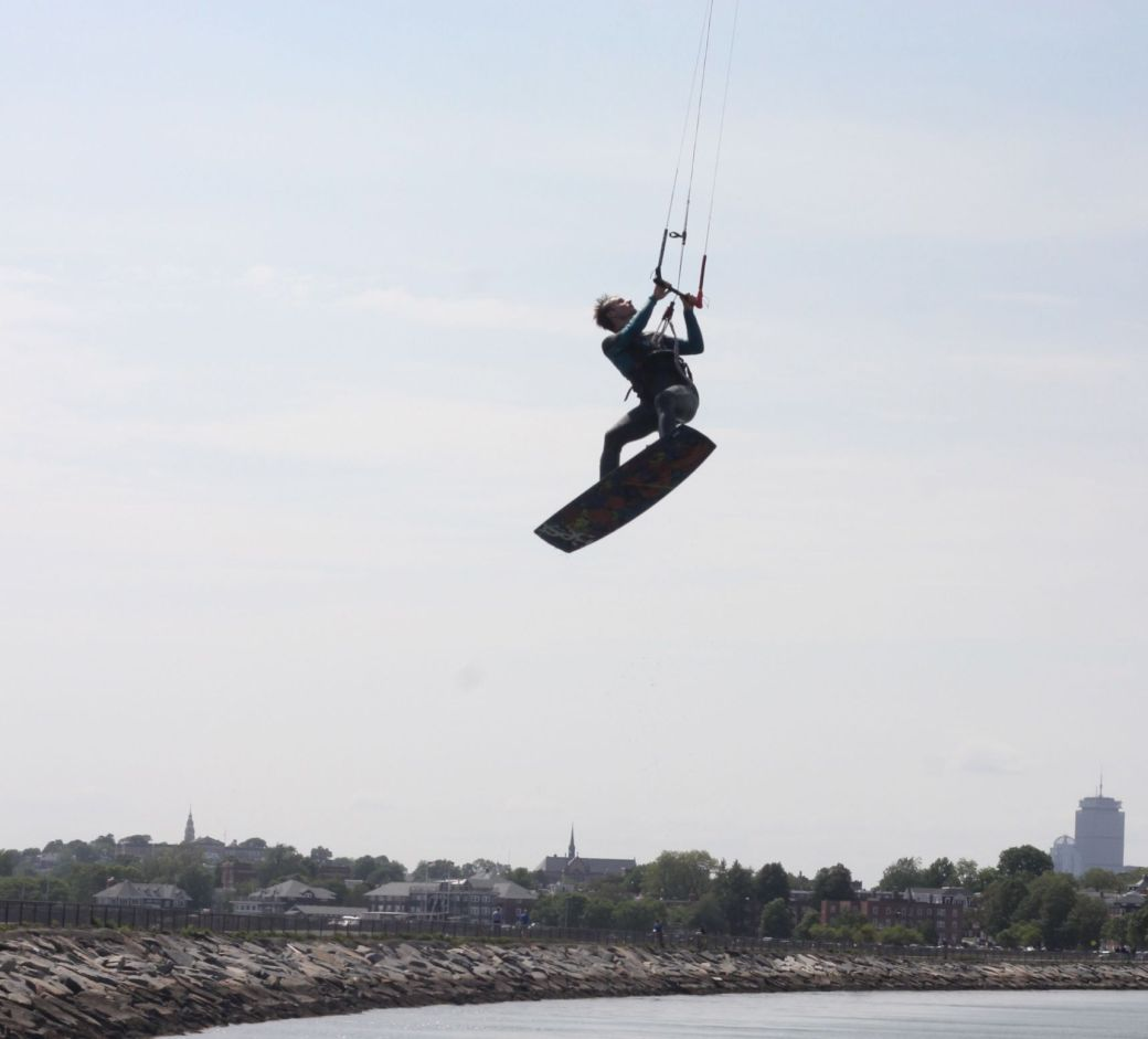 boston castle island kite surfing 4
