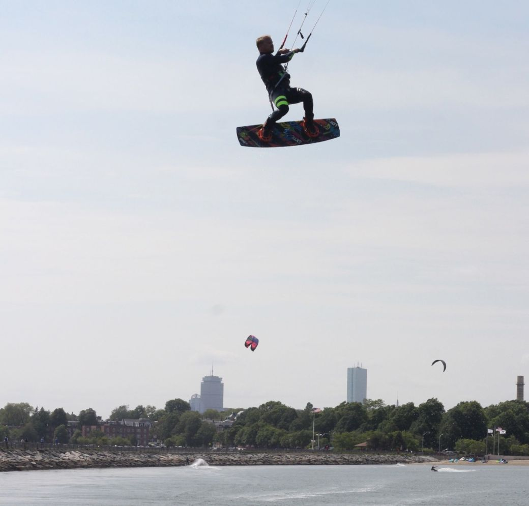 boston castle island kite surfing 5