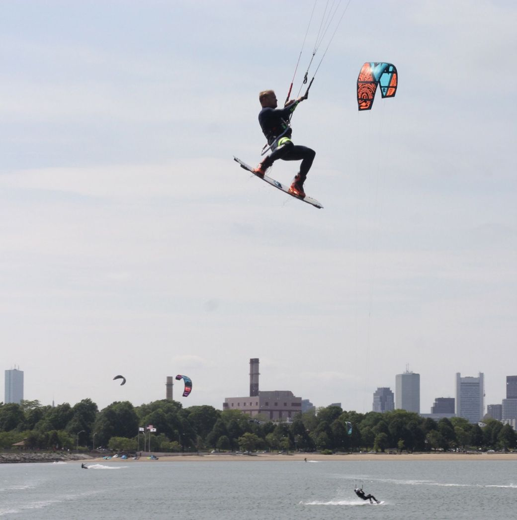 boston castle island kite surfing 6
