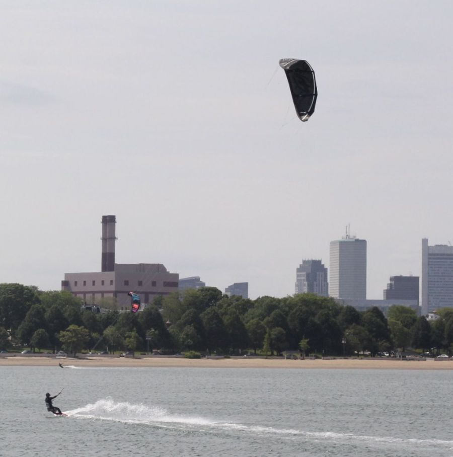 boston castle island kite surfing 9