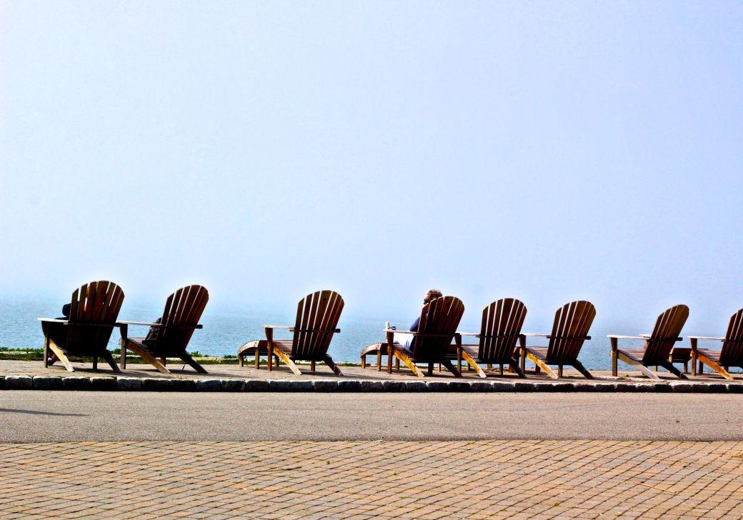 boston harbor island george's island chairs