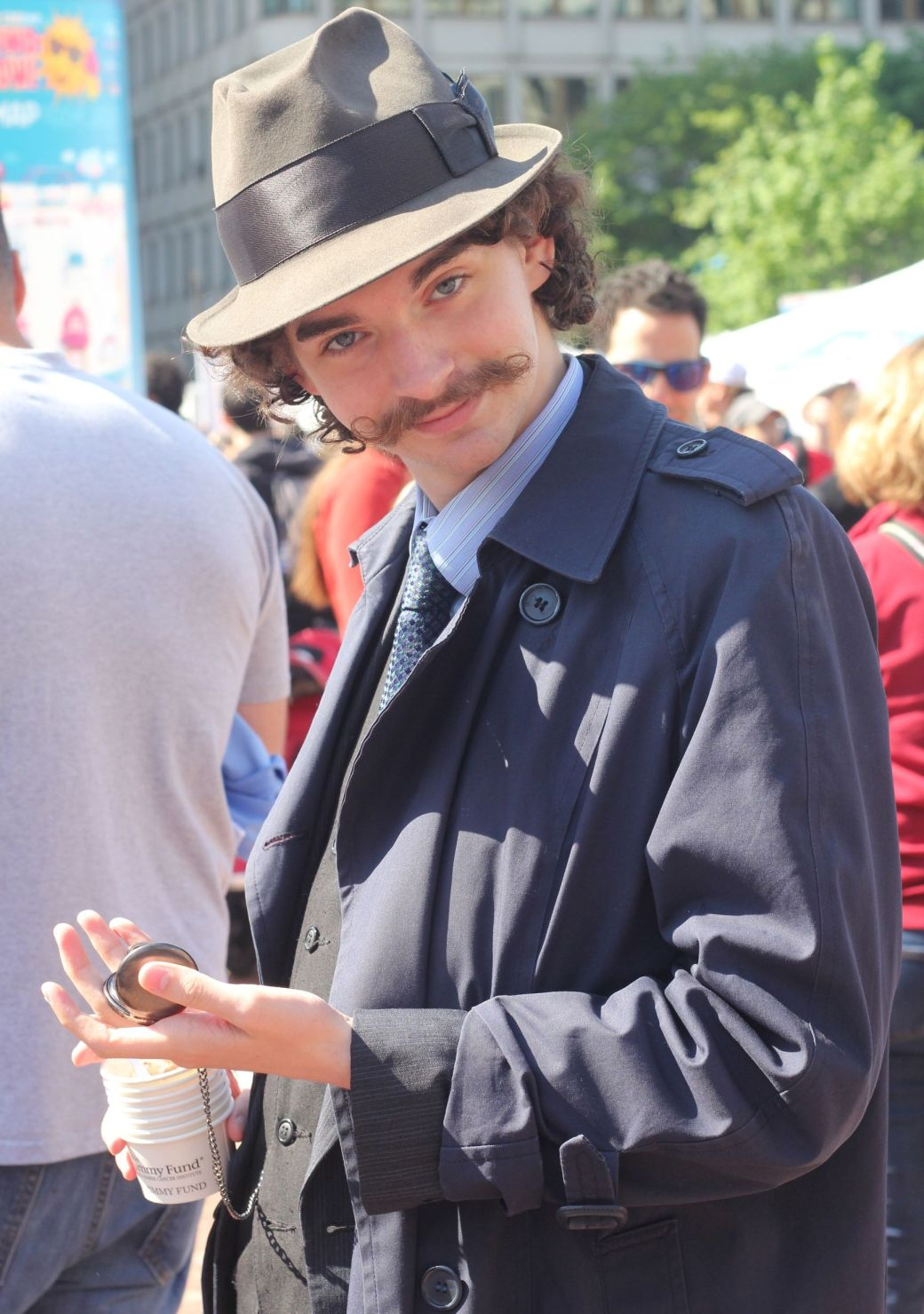 boston scooper bowl man in detective outfit 3