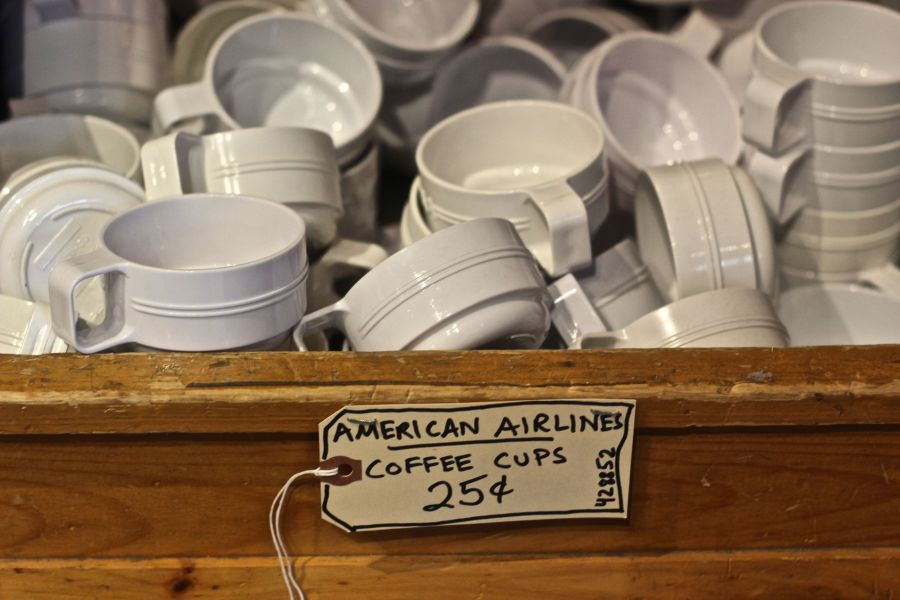 provincetown commercial street marine specialities store american airlines coffee cups