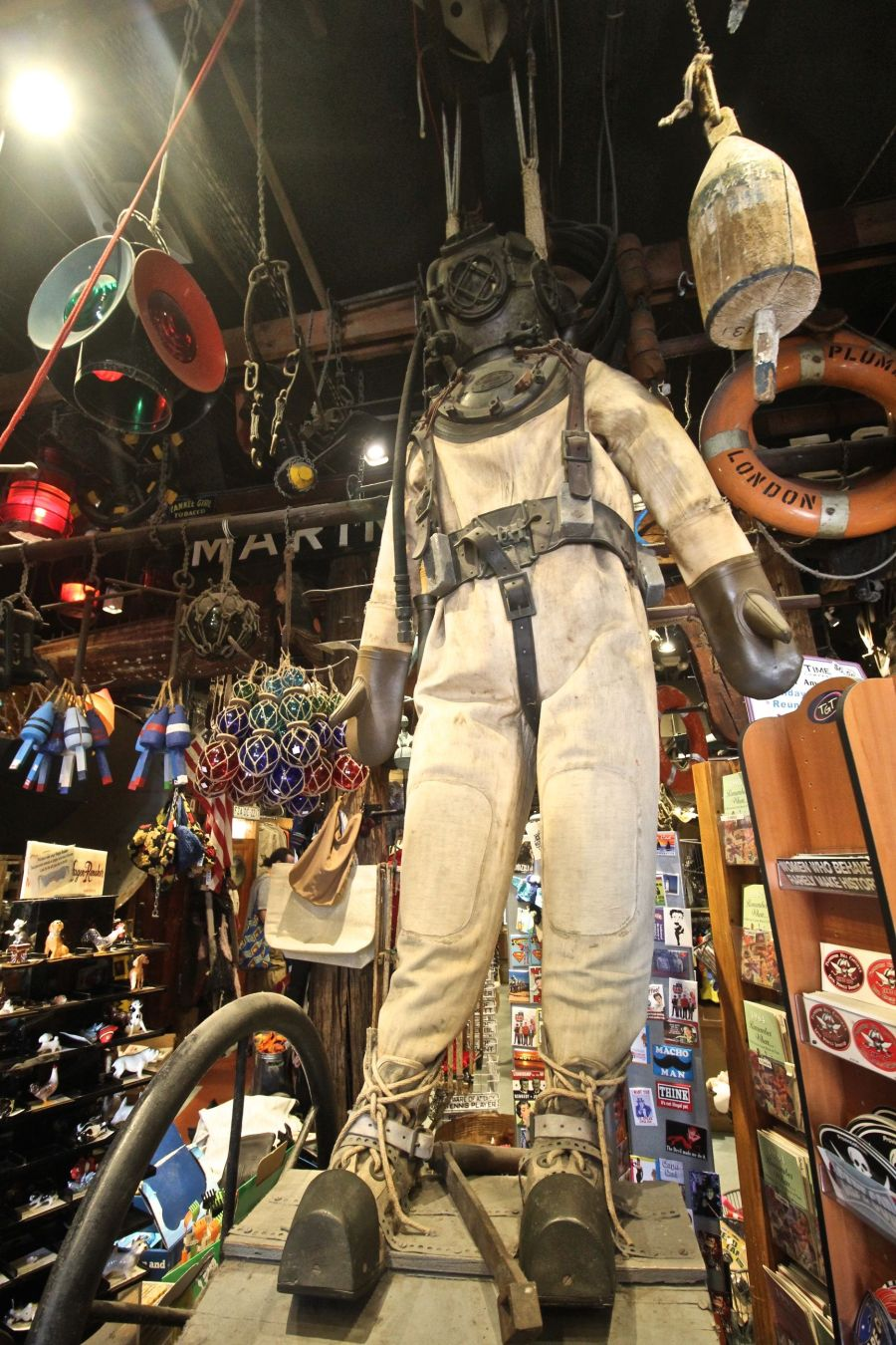provincetown commercial street marine specialities store diving suit 2