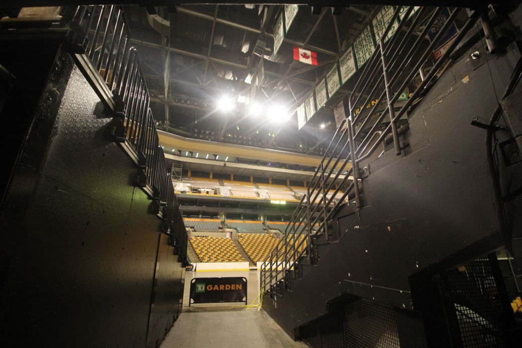 boston td garden floor of the garden entrance