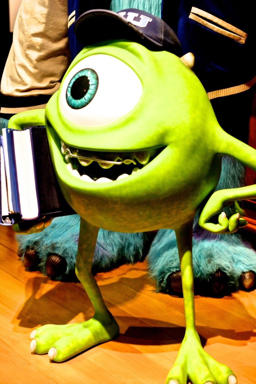 boston museum of fine arts pixar exhibit mike wazowski