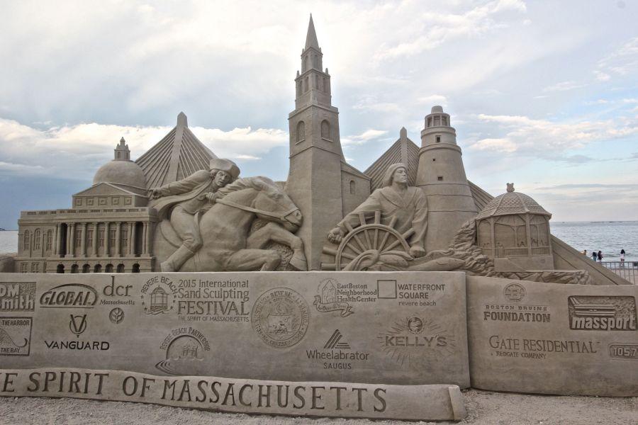 boston revere beach sand sculpture festival boston sculpture