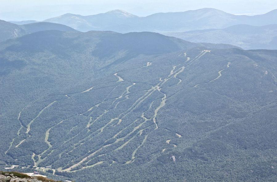 new hampshire presidential mountain range driving up mount washington 13 attitash