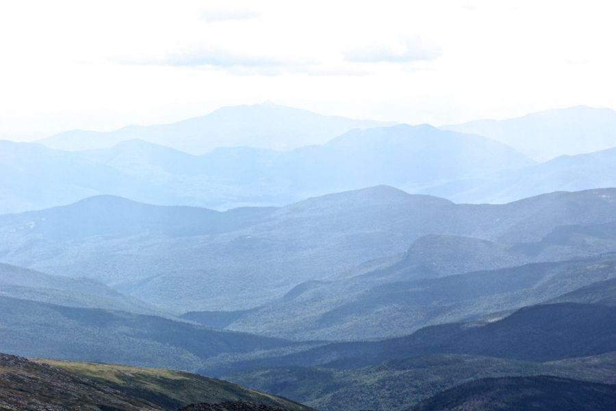 new hampshire presidential mountain range driving up mount washington 14