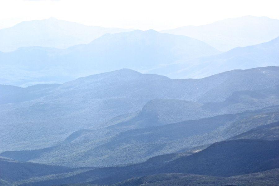 new hampshire presidential mountain range driving up mount washington 15