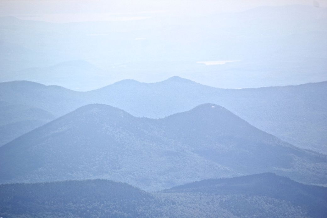 new hampshire presidential mountain range driving up mount washington 16