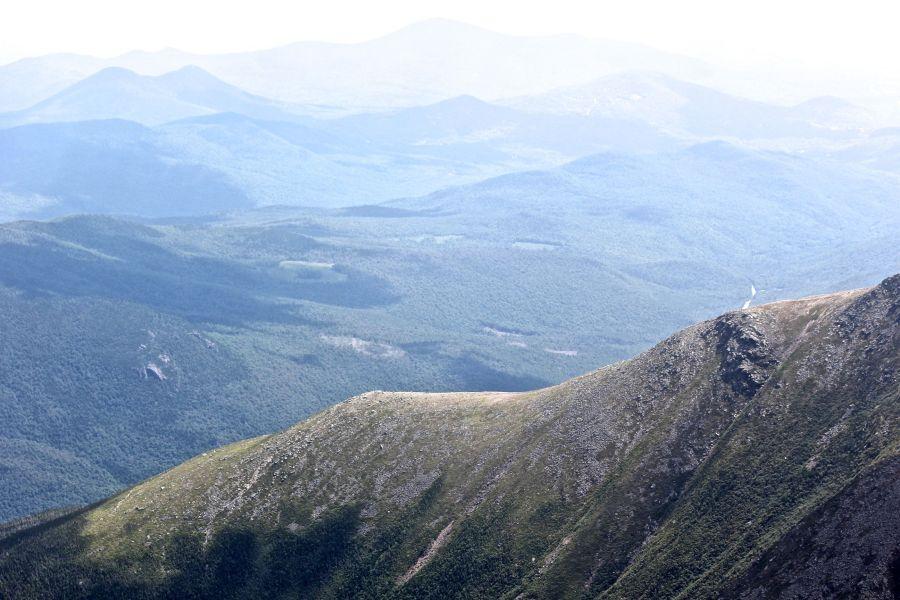 new hampshire presidential mountain range driving up mount washington 18