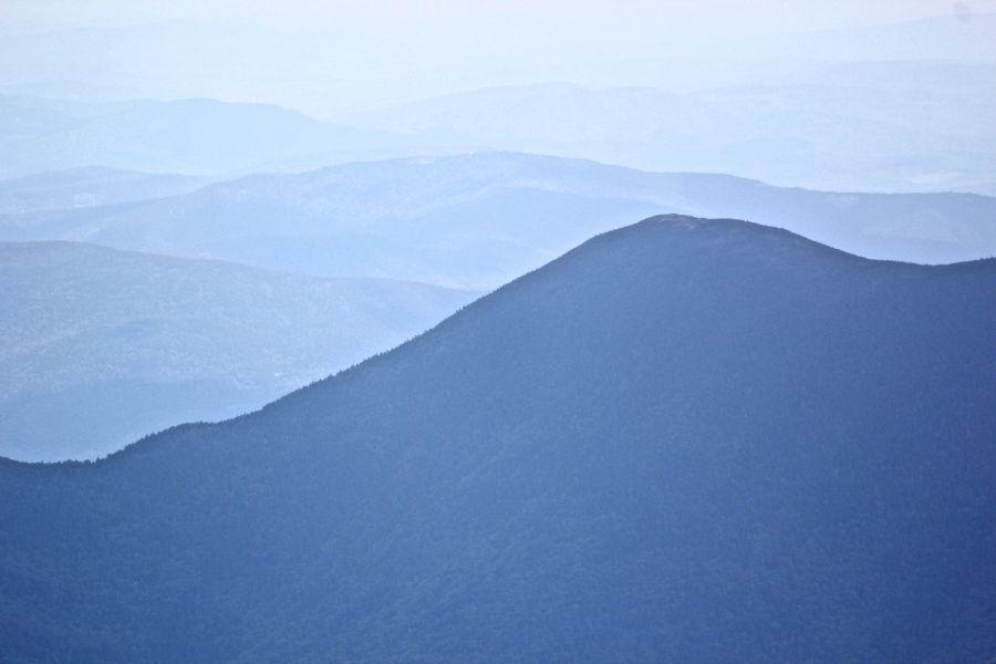 new hampshire presidential mountain range driving up mount washington 19