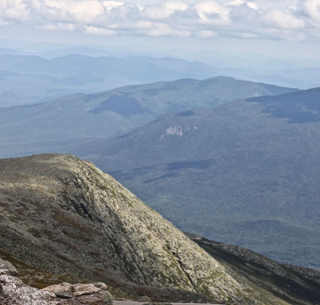 new hampshire presidential mountain range driving up mount washington 24