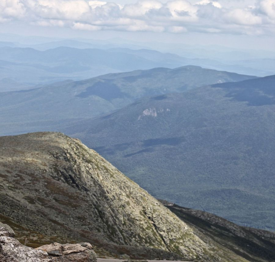 new hampshire presidential mountain range driving up mount washington 24