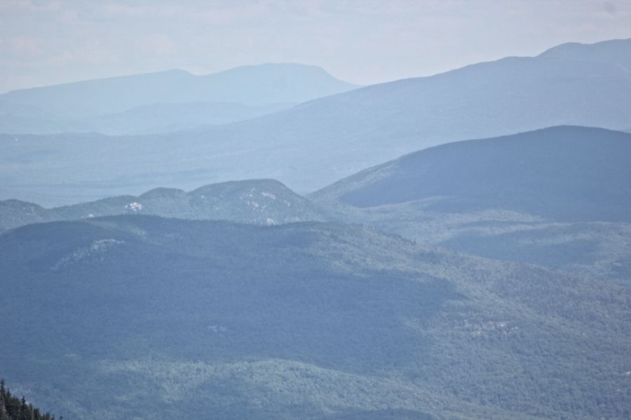 new hampshire presidential mountain range driving up mount washington 3