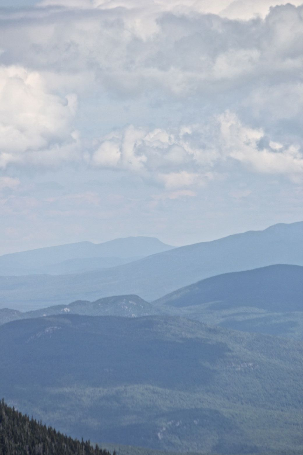 new hampshire presidential mountain range driving up mount washington 4
