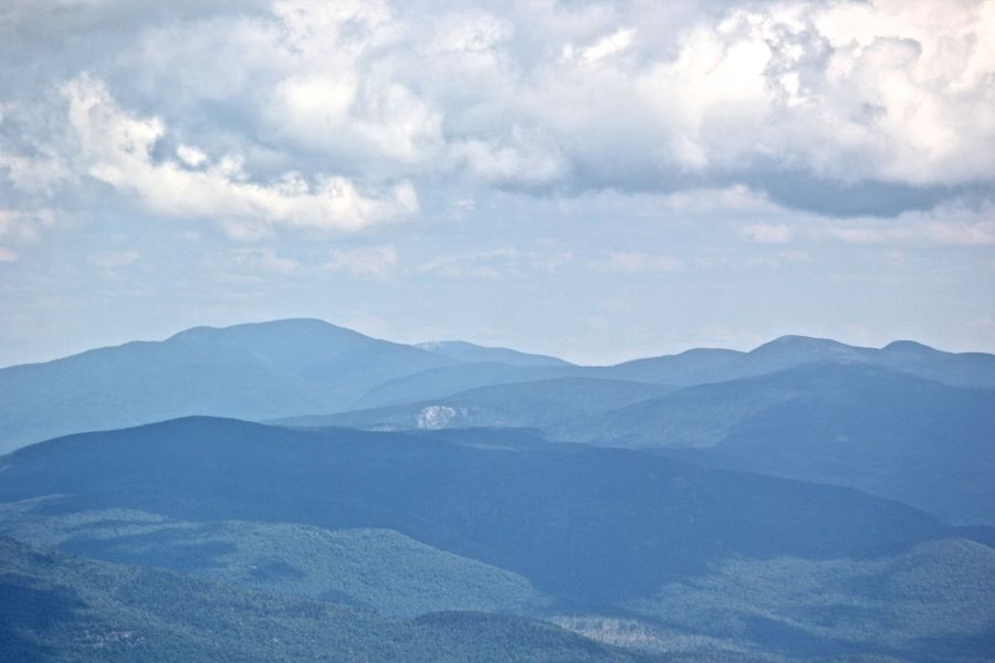 new hampshire presidential mountain range driving up mount washington 5