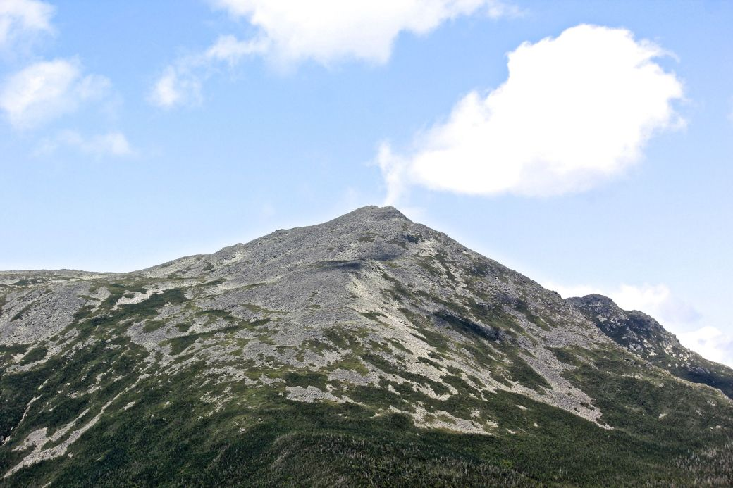 new hampshire presidential mountain range driving up mount washington 6