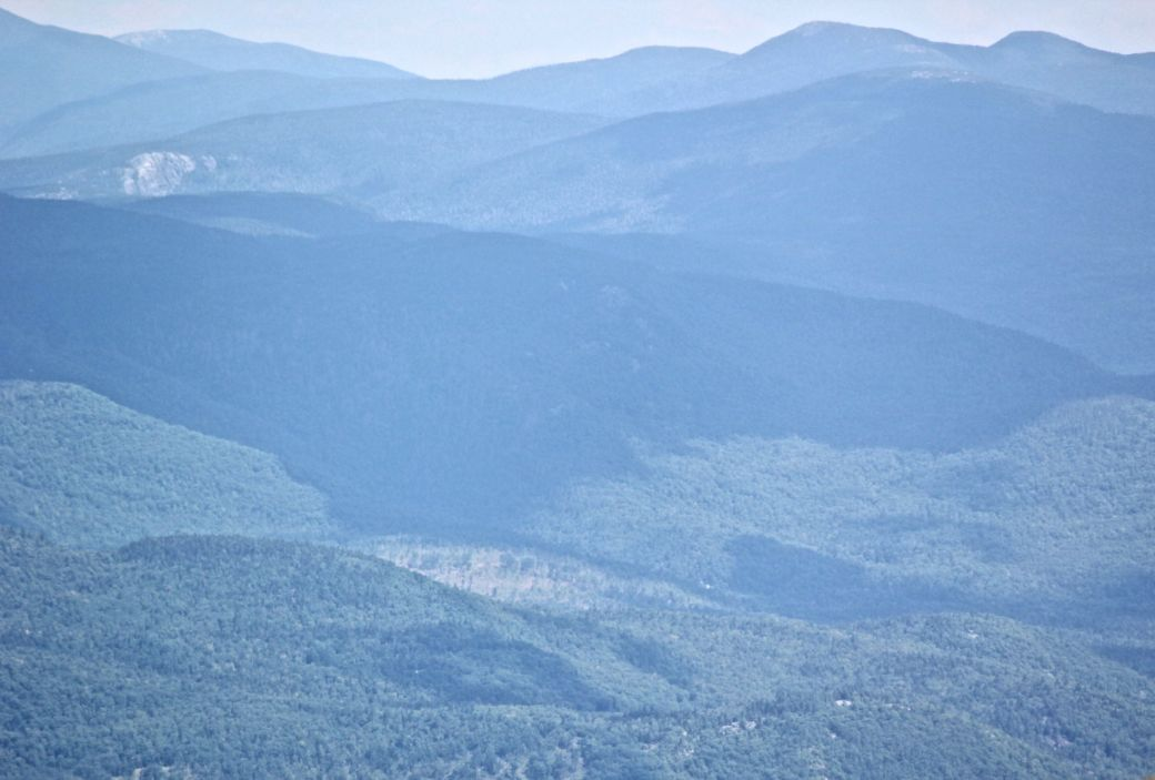 new hampshire presidential mountain range driving up mount washington 7