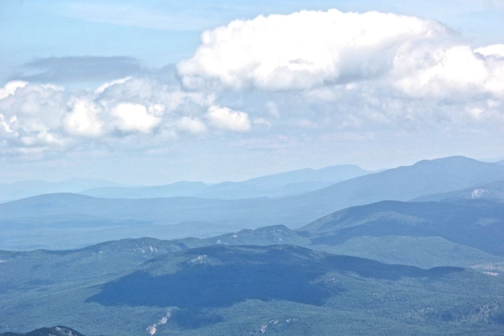 new hampshire presidential mountain range driving up mount washington 8