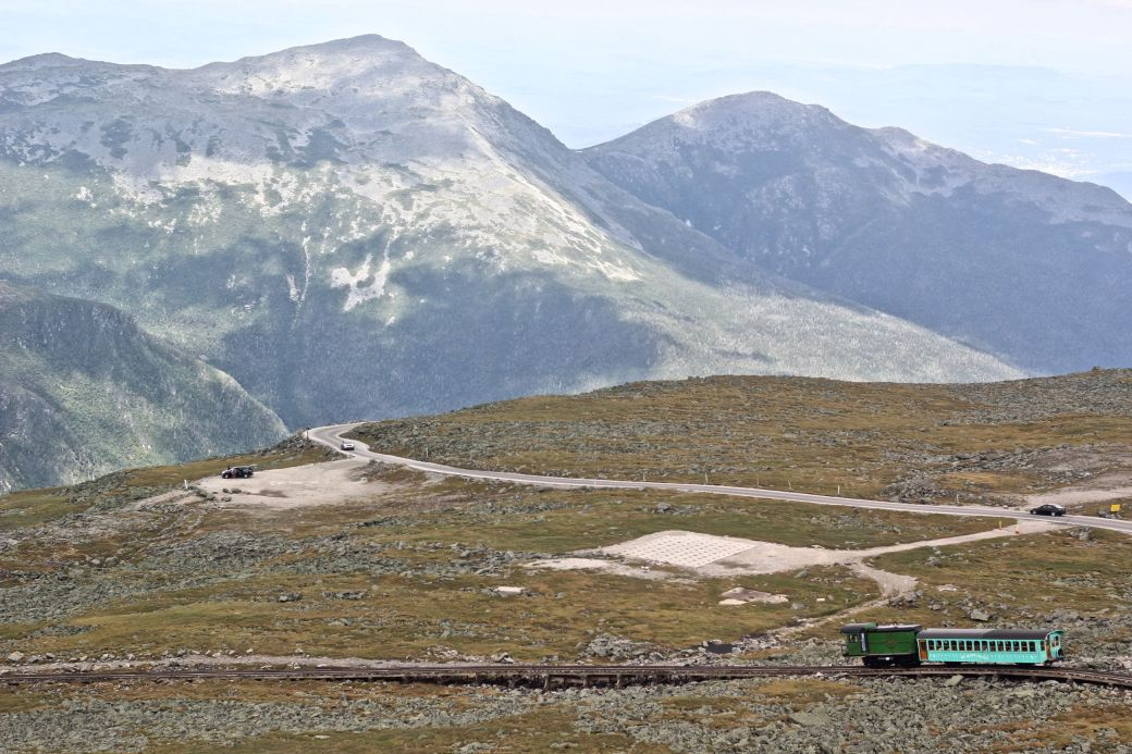 new hampshire presidential mountain range mount washington summit 27