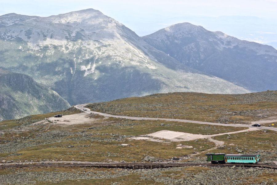 new hampshire presidential mountain range mount washington summit 27