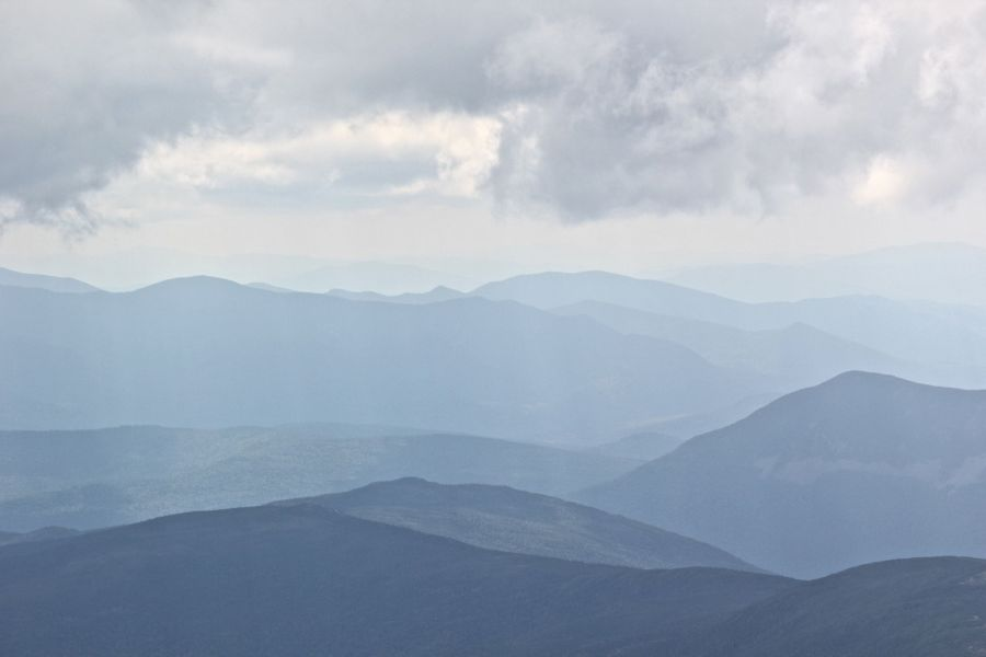 new hampshire presidential mountain range mount washington summit 33