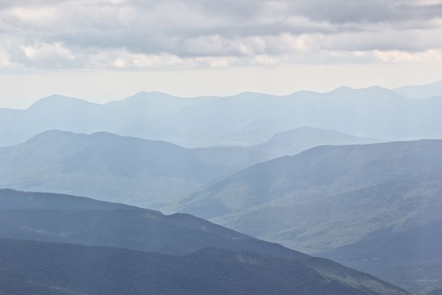 new hampshire presidential mountain range mount washington summit 34